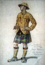 Highlander James Wallace, 1916